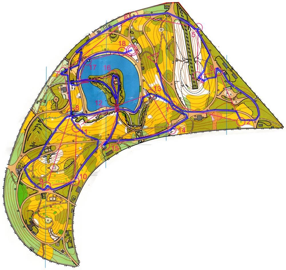 Carte Buttes Chaumont.Recit De La Course Co Format Sprint Manche 2 2012 Par